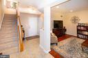 Ground level den with access to 2 car garage - 5000 DONOVAN DR, ALEXANDRIA