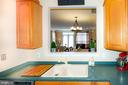 Kitchen prep countertop space - 5000 DONOVAN DR, ALEXANDRIA