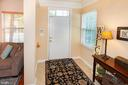 Welcoming foyer with ceramic tile - 5000 DONOVAN DR, ALEXANDRIA