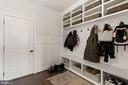 Organized mud room for the whole family - 1015 AKAN ST SE, LEESBURG