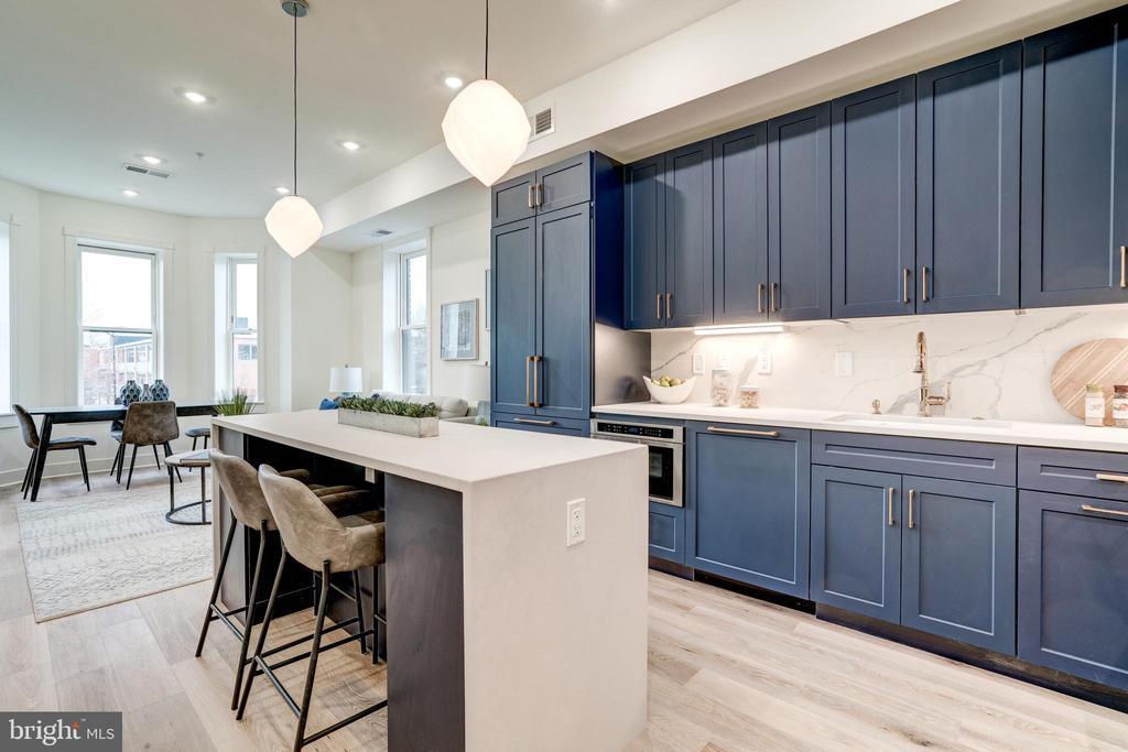Bright Modern Kitchen - 1737 11TH ST NW #100, WASHINGTON
