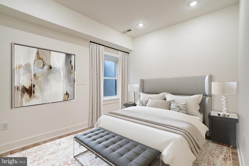 Bedroom Three - 1737 11TH ST NW #100, WASHINGTON