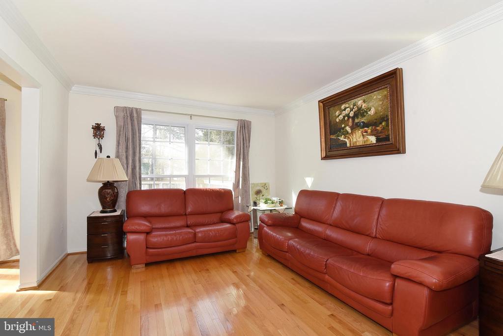 Living Room - 8909 LAKE BRADDOCK DR, BURKE