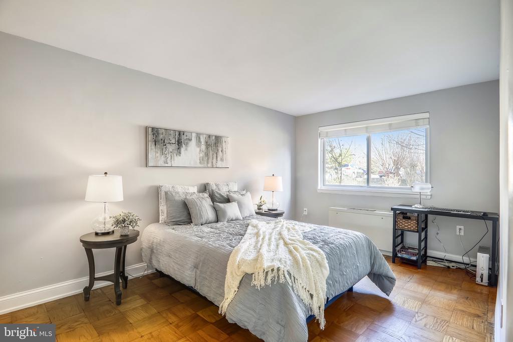 Bedroom Full of Natural Light - 4555 MACARTHUR BLVD NW #G6, WASHINGTON