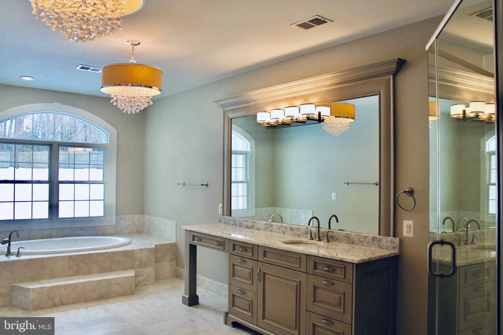 Spa Like Primary Bath with Separate Vanities. - 10603 VALE RD, OAKTON