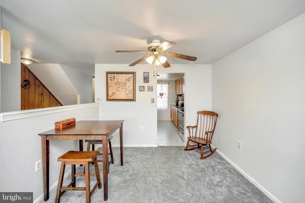 Dining room - Middle level - 4613 CENTRAL PARK DR, WOODBRIDGE