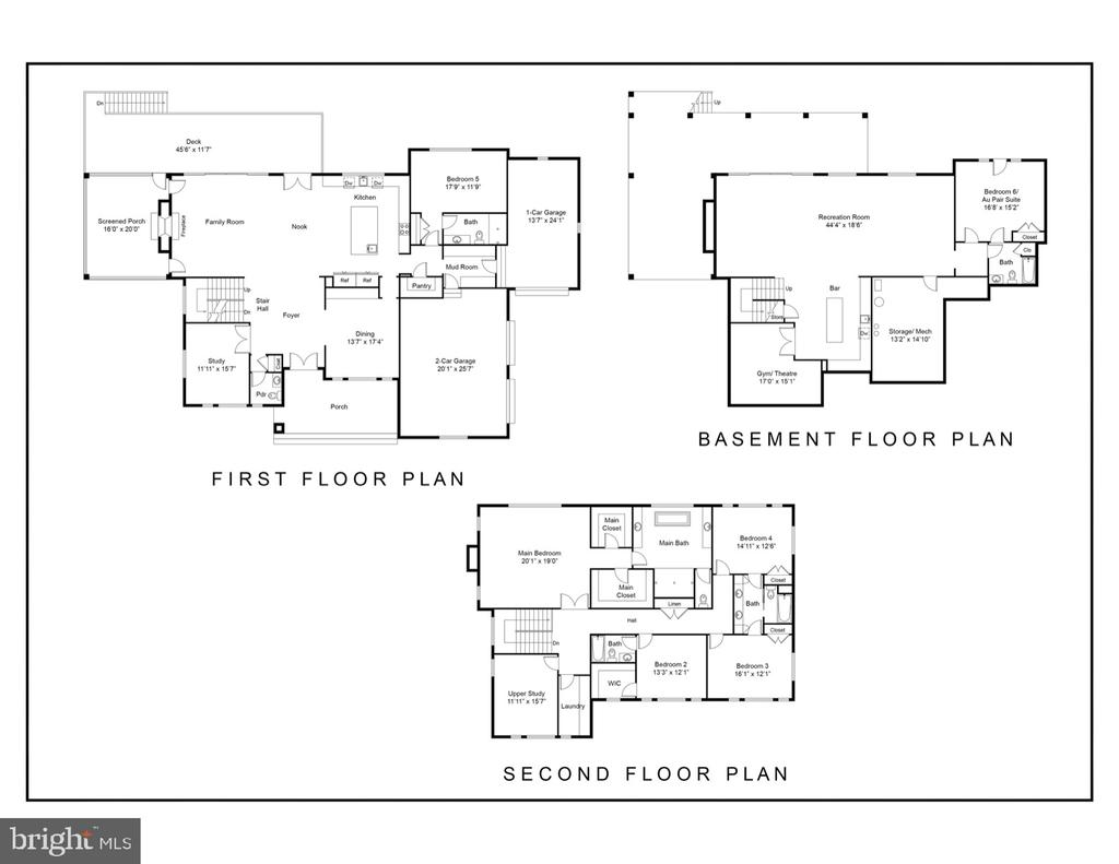 Floor Plan - 2715 COLT RUN RD, OAKTON