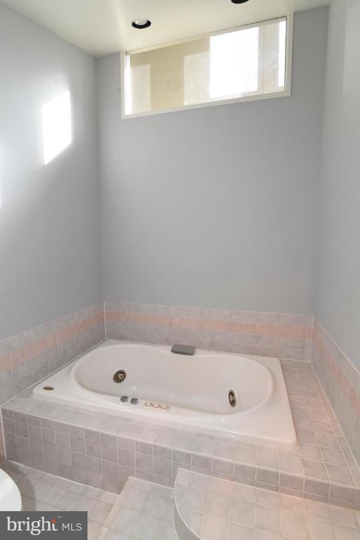 Primary Bathroom Soaking Tub - 1101 PEPPERTREE DR, GREAT FALLS