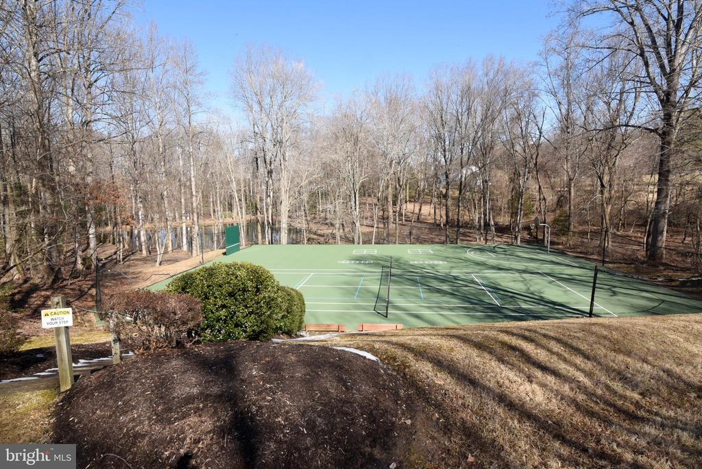 Tennis and Sports Court - 1101 PEPPERTREE DR, GREAT FALLS