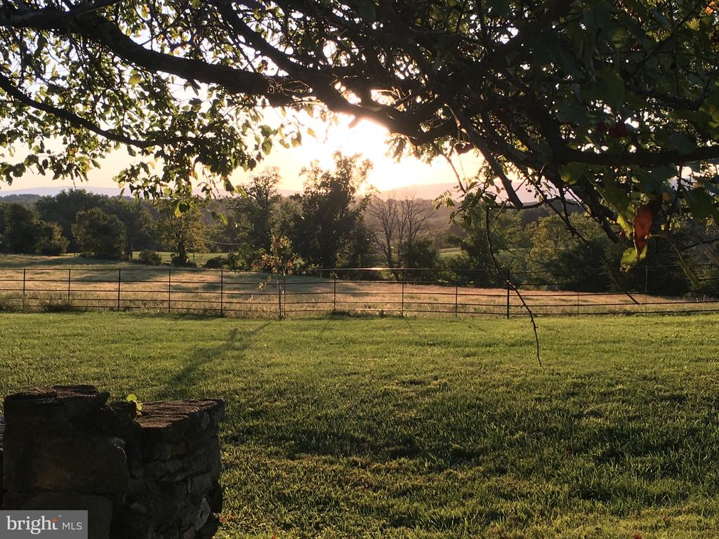 Views in summer towards the mountains - 21943 ST LOUIS RD, MIDDLEBURG