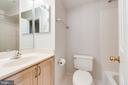 Bathroom 2 with tub - 6151 BRAELEIGH LN, ALEXANDRIA