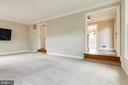 Living room - 6151 BRAELEIGH LN, ALEXANDRIA