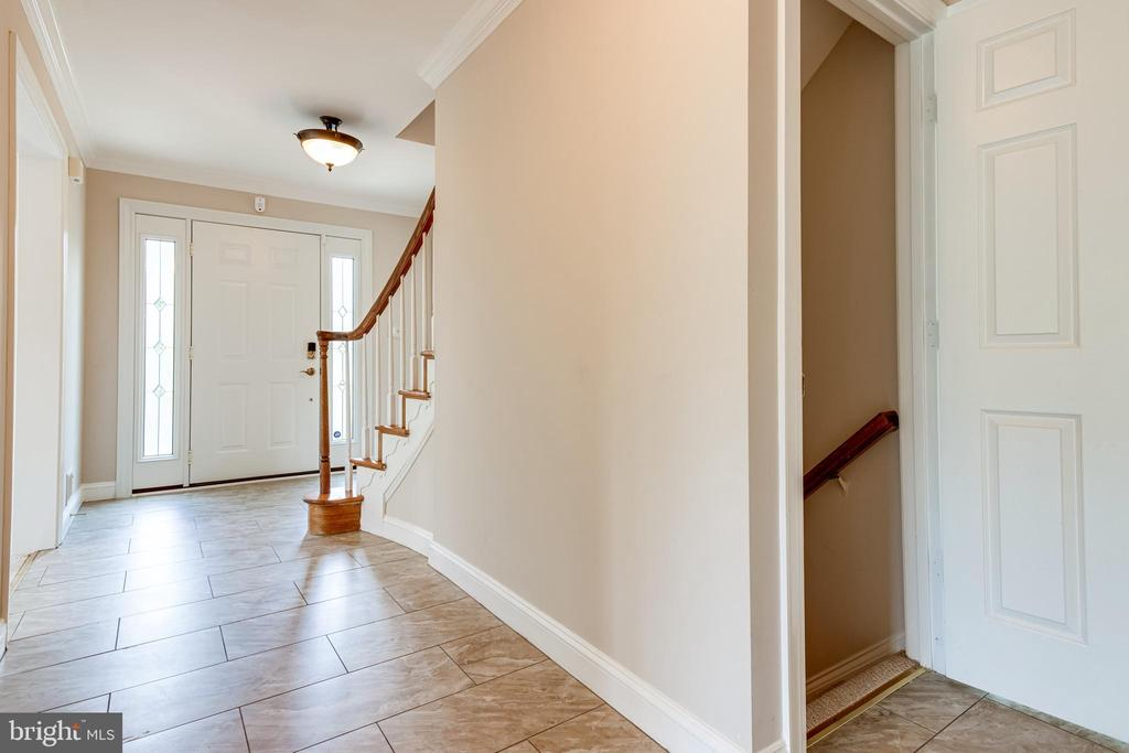 Entrance to the lower level - 6151 BRAELEIGH LN, ALEXANDRIA