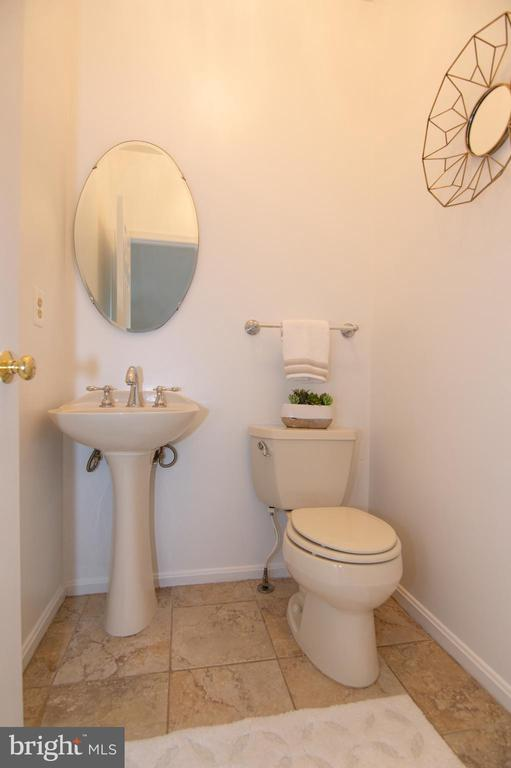 Main Level Half Bath - 11415 HOLLOW TIMBER WAY, RESTON