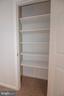 Upper Level Hallway Linen Closet - 11415 HOLLOW TIMBER WAY, RESTON