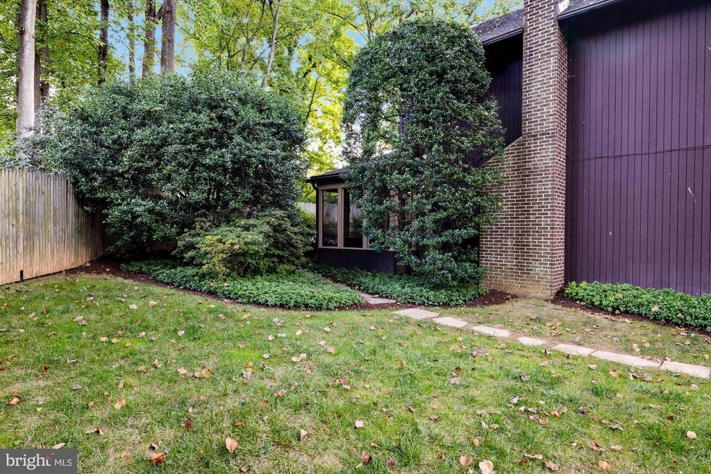 Side yard of the property - 3 SPRINGER, BETHESDA