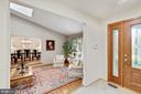 Open floor plan - 3 SPRINGER, BETHESDA