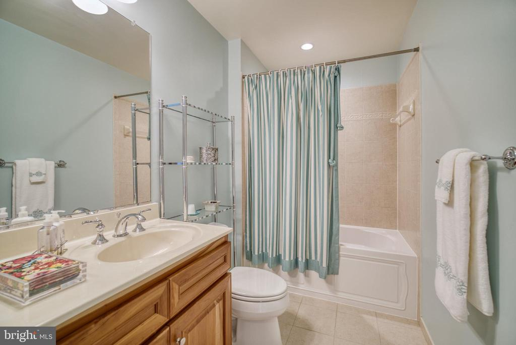 All 3  bathrooms have upgraded cherry cabinets - 1830 FOUNTAIN DR #604, RESTON