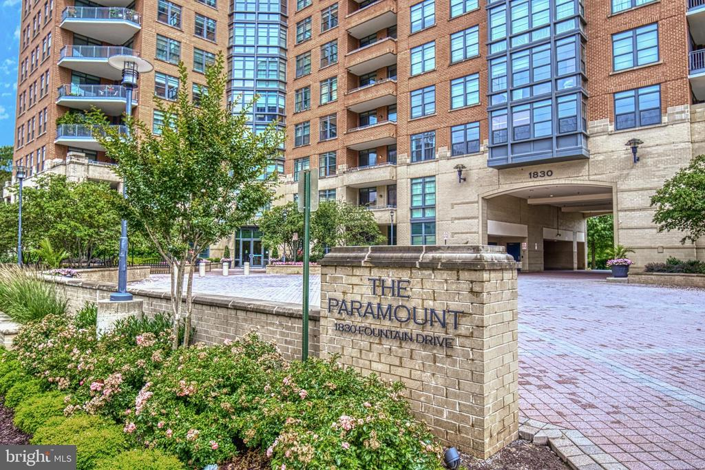 Beautifully managed & appointed building - 1830 FOUNTAIN DR #604, RESTON