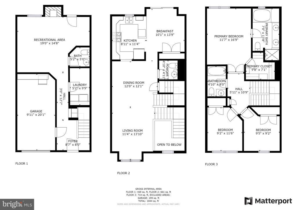 Full Home Floor Plan - 21728 KINGS CROSSING, ASHBURN