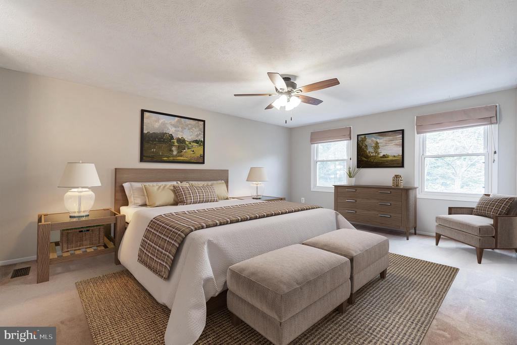 Owner's suite with room for reading area - 1227 AQUIA DR, STAFFORD