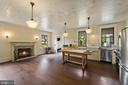 gather by the fireplace - 20707 ST LOUIS RD, PURCELLVILLE