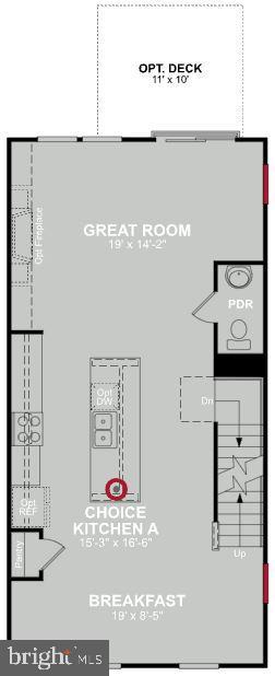 Second Level Floor Plan - 200 BARNWELL DR, STAFFORD