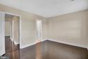 3rd level bedroom #2 - 6831 WASHINGTON BLVD #D, ARLINGTON