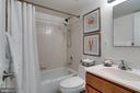 Full bath - 1435 N VAN DORN ST #B, ALEXANDRIA