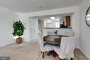 Dining / Living area - 1435 N VAN DORN ST #B, ALEXANDRIA