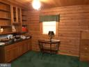 DEN has built in  shelving and storage - 12101 FOUNTAIN DR, CLARKSBURG