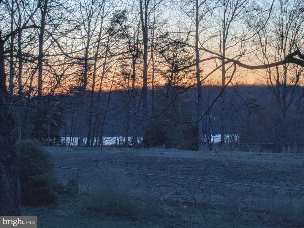 View of the creek in the fall & winter - 1227 AQUIA DR, STAFFORD