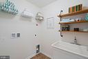 Main level laundry - 17559 SPRING CRESS DR, DUMFRIES