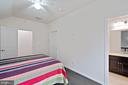 Loft bedroom with private bath - 17559 SPRING CRESS DR, DUMFRIES