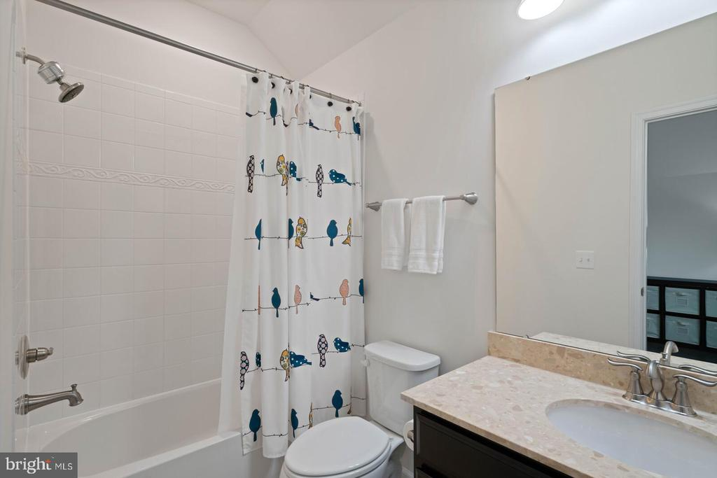 It is a full size tub/shower bath - 17559 SPRING CRESS DR, DUMFRIES