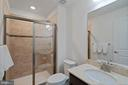 The lower level bath - 17559 SPRING CRESS DR, DUMFRIES