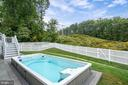 The swim spa ( therapeutic lap pool) conveys - 17559 SPRING CRESS DR, DUMFRIES