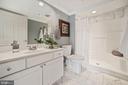 2nd bathroom - 1276 N WAYNE ST #608, ARLINGTON
