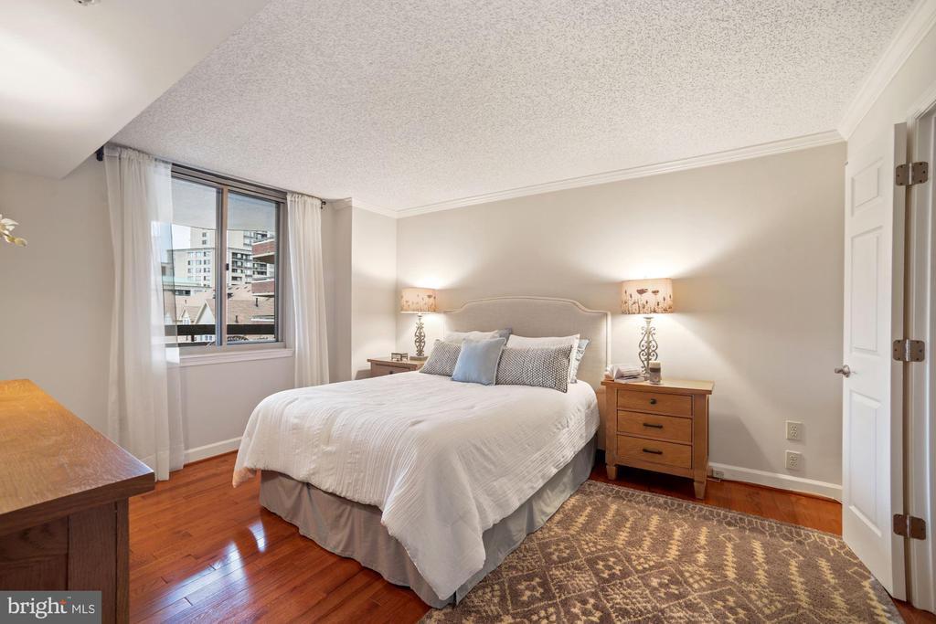Spacious master bedroom - 1276 N WAYNE ST #608, ARLINGTON