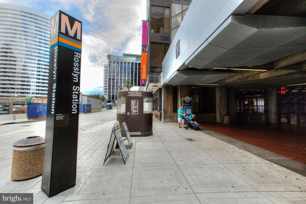 Rosslyn Metro Home to Blue, Orange, & Silver Lines - 1881 N NASH ST #307, ARLINGTON
