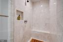 Beautiful Floor-to-Ceiling Tile in Full Bathroom 2 - 1881 N NASH ST #307, ARLINGTON