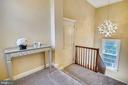 Landing for Private Upper Level Primary Suite - 2539 DONNS WAY, OAKTON