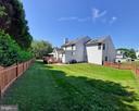 GREAT fully fenced back yard! - 8903 REMINGTON PL, FREDERICK