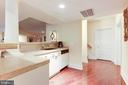 Lower level kitchenette - 1342 POTOMAC SCHOOL RD, MCLEAN