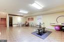 Gym adjacent to squash court - 1342 POTOMAC SCHOOL RD, MCLEAN