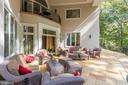 Exquisite main level terrace off foyer & fam room - 1342 POTOMAC SCHOOL RD, MCLEAN