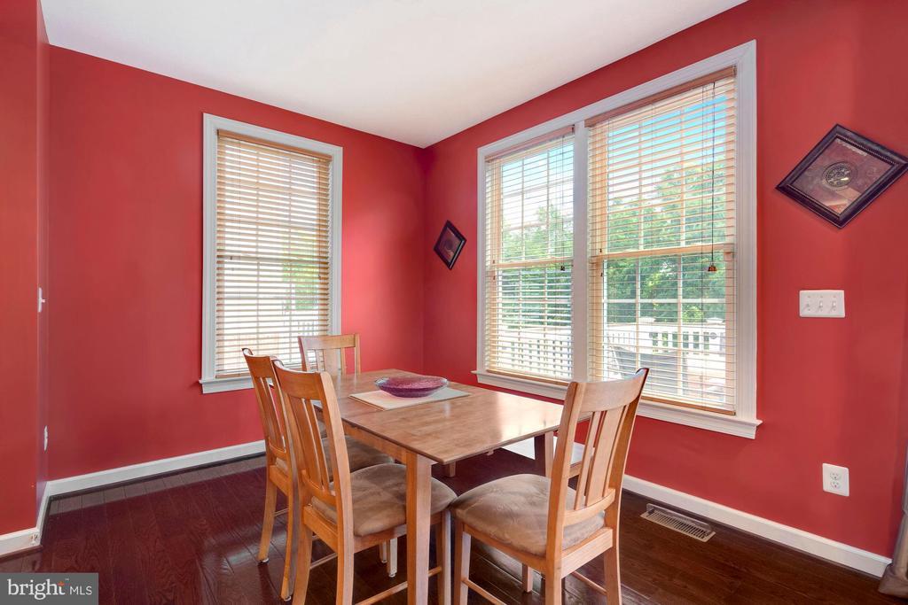 Breakfast room - 21260 PARK GROVE TER, ASHBURN
