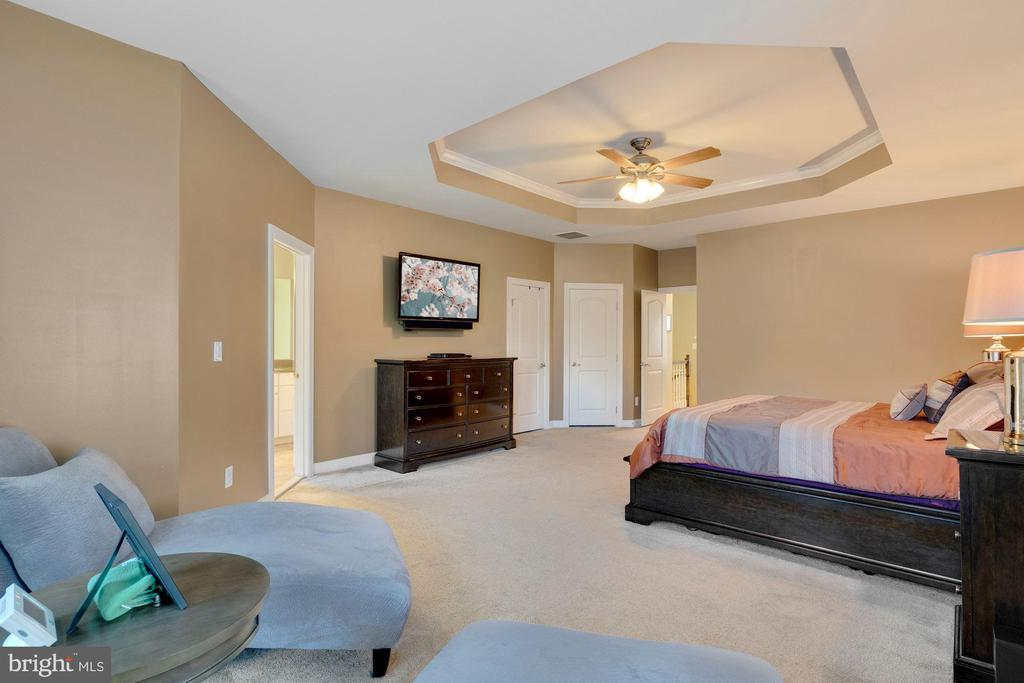 Primary Bedroom- view from sitting room. - 21260 PARK GROVE TER, ASHBURN