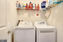 Laundry room on upper level - 21260 PARK GROVE TER, ASHBURN