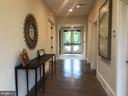 The rear entrance with baths - 17559 SPRING CRESS DR, DUMFRIES